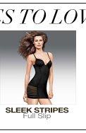 More Styles to Love: Sleek Stripes Full Slip
