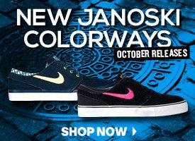 New Janoski Colorways!