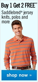 Buy 1 Get 2 FREE Saddlebred jersey knits. Shop now.