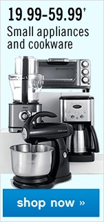 19.99–59.99 Small Appliances. Shop now.