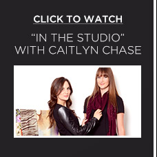 """Click to Watch """"In the studio"""" with Caitlyn Chase"""