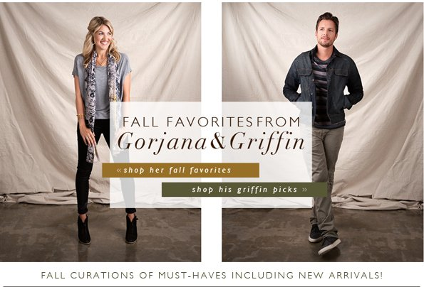 gorjana & griffin Fall Favorites