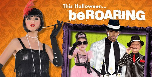 This Halloween... be ROARING!