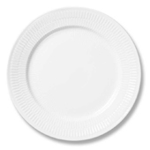 White Half Lace Side Plate