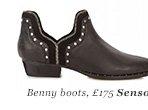 Benny Boots, £175 Senso