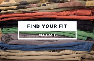 Find Your Fit: Fall Pants