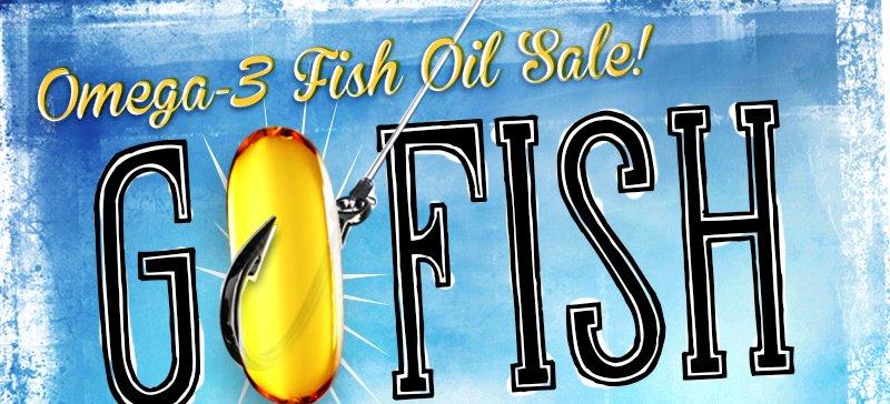 Omega-3 Fish Oil Sale