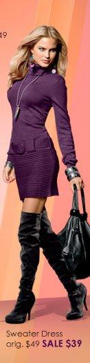 SHOP Sweater Dress SALE