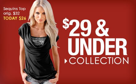 Shop Styles $29 and UNDER