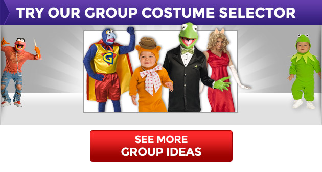 See More Group Ideas in Our Group Costume Selector