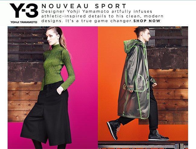 Shop Adidas Y-3