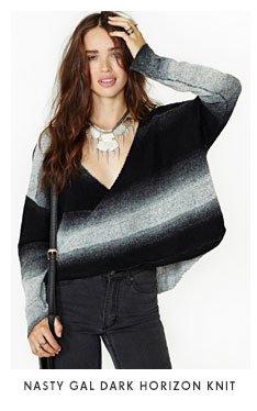 Nasty Gal Dark Horizon Knit