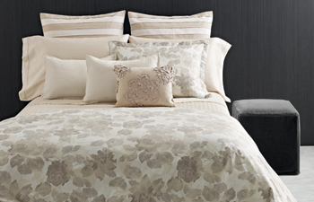 Vera Wang Bedding Etched Roses