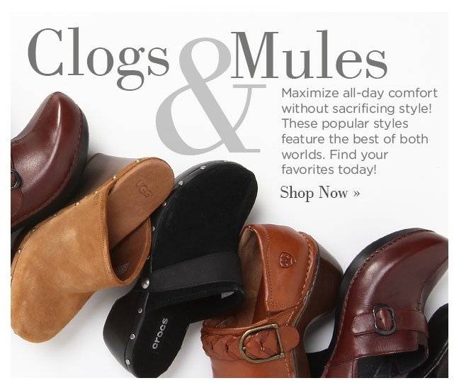 Shop Clogs & Mules