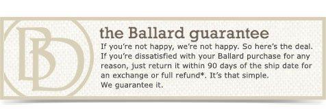 the ballard guarantee
