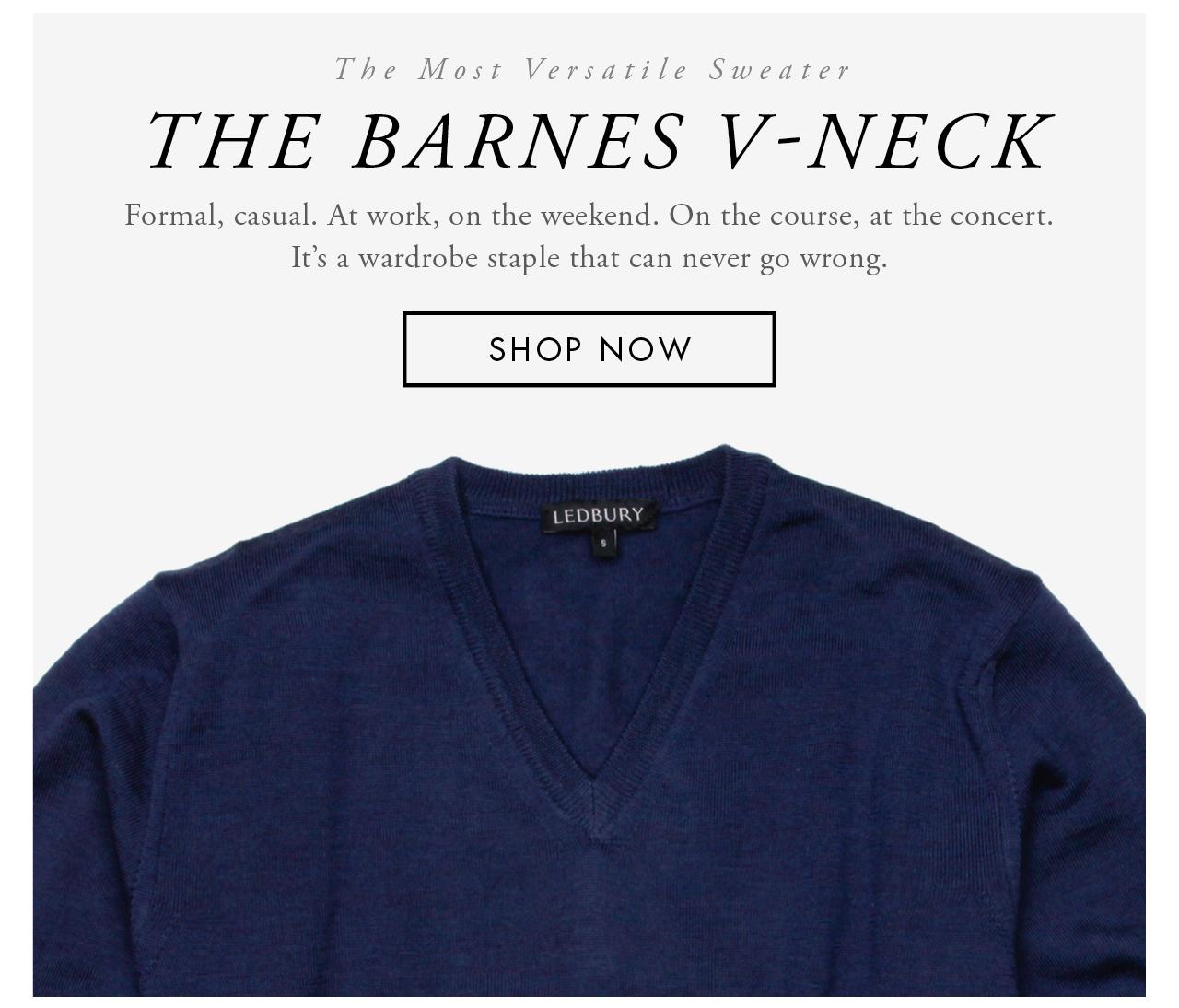 The Barnes V-Neck
