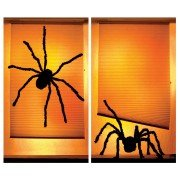 Shady Spiders Window Poster