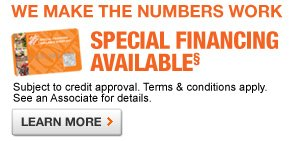 Ask for 12 Months Special Financing