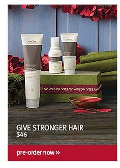 give stronger hair. pre-order now.
