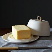 Bronze Butter Dish