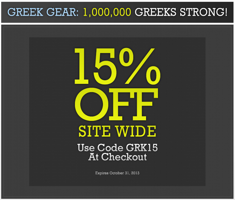 15% Off - Use Coupon Code GRK15