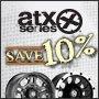 Save 10% on ATX Wheels