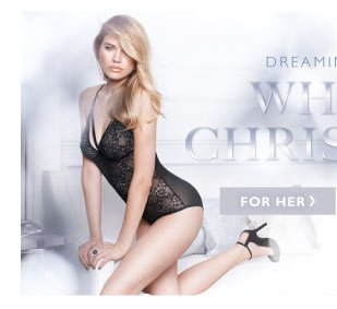 Dreaming of a White Christmas - SHOP FOR HER