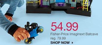 54.99 Fisher-Price Imaginext Batcave reg. 79.99