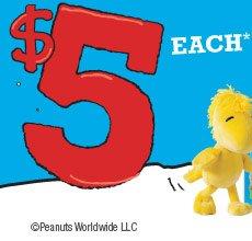 $5 EACH