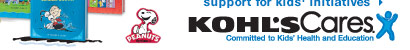 Learn more about Kohl's support for kids' initiatives