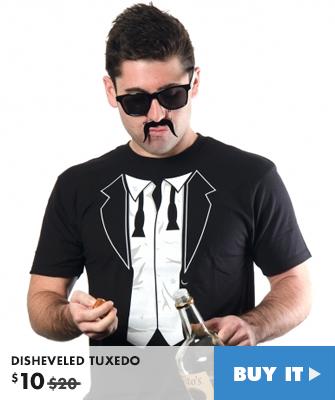 Disheveled Tuxedo