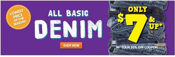 Denim - Only $7!