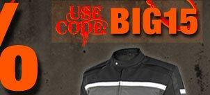Use Code: BIG15