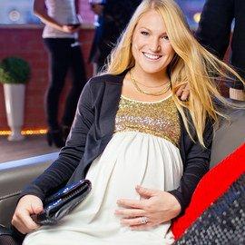 Holiday Shine: Maternity Apparel