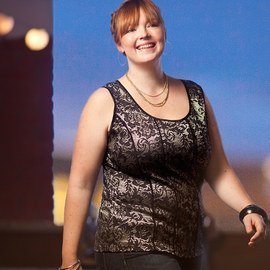 Holiday Shine: Plus-Size Apparel
