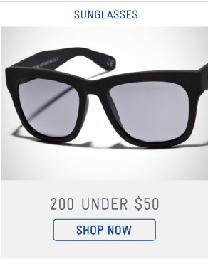 Shop Sunglasses Under $50