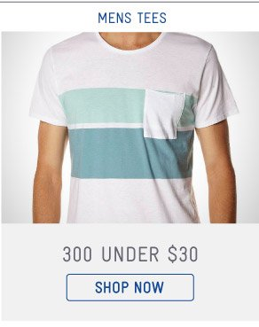 Shop Mens Tees Under $30