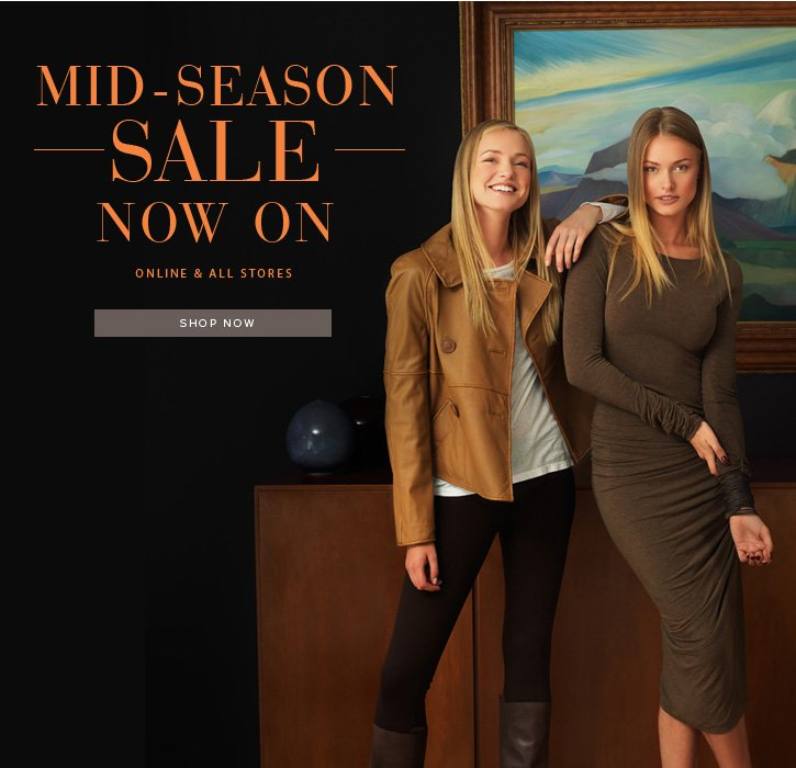 Mid-Season Sale Now On