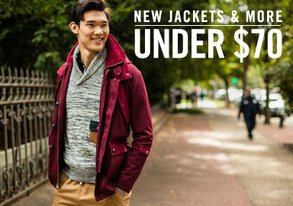 Shop New Jackets & More Under $70