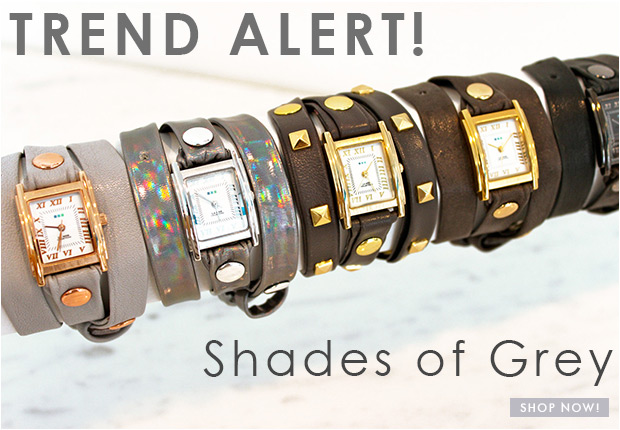 Trend Alert! Shades of Grey. Shop Now