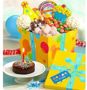 Great Big Happy Birthday Sweet & Treats Gift<