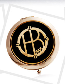 Henri Bendel Monogram Compact