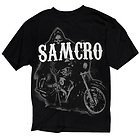 Sons of Anarchy Mens Reaper On Bike T-Shirt