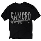 Sons of Anarchy Mens SAMCRO Rifle T-Shirt