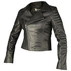 Xelement Womens Vixen Black Leather Jacket
