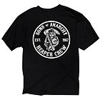 Sons of Anarchy Mens Cities T-Shirt