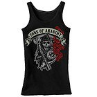 Sons of Anarchy Womens Rose Reaper Tank Top