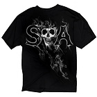 Sons of Anarchy Mens SAMCRO Reaper Smoke T-Shirt