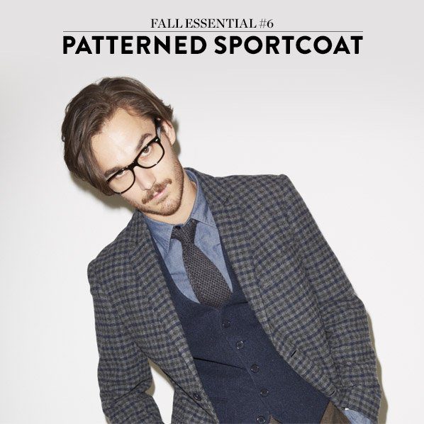 FALL ESSENTIAL #6 - PATTERNED SPORTCOAT