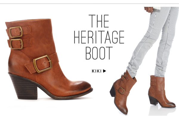 The heritage boot. Shop Kiki